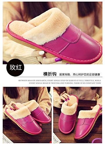 Comfortable Shoes Indoor Women Outdoor onautumn Slippershouse Slip Pink Cotton Winter Warm Keep Wall Night Men amp; And 5vnOO0