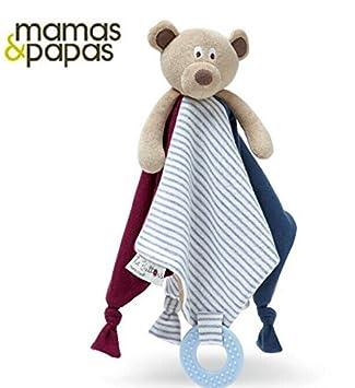 EEvER Toalla de Mano Suave para bebé con diseño de Oso de Peluche, Color marrón: Amazon.es: Hogar