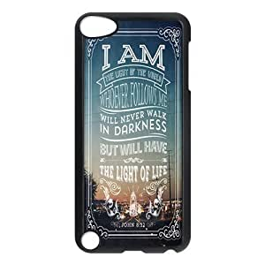 Bible Verse Protective Hard PC Back Fits Cover Case for iPod Touch 5, 5G (5th Generation)
