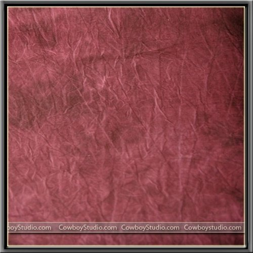 CowboyStudio 10'x20' Hand Painted Tie Dye Muslin Photography Photo Backdrop - Red ()