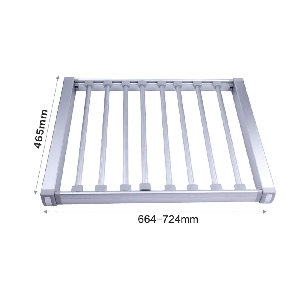 Amazon.com: Aluminum Pull-Out Trousers Rack,Pants Holder ...