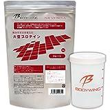 大豆プロテイン 1kg 無添加 飲みやすいソイプロテイン シェーカーセット