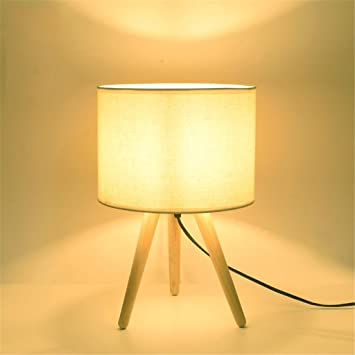 Lámpara de mesa simple, tres pies creativos de agua Lámpara ...