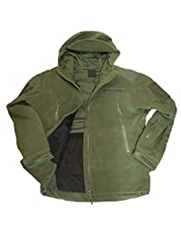 Tactical Mountain Fleece Jacket Hunter Windbreaker Outdoor Apparel Seals