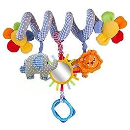 Juguete para bebé con espirales de animales