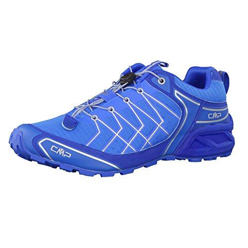 C.P.M. Super X, Zapatillas de Running para Asfalto para Hombre Azul (Vela)