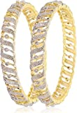 Ethnic Bollywood Fashion Gold Tone Indian Bangles Bracelet Party wear Traditional Jewelry