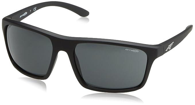 Arnette Sandbank gafas de sol, Black Rubber, 61 para Hombre ...