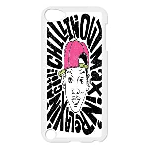 {Funny Quote Series} Ipod Touch 5 Case Typography Chillin Out Maxin, Cheap Cute Case Yearinspace - White