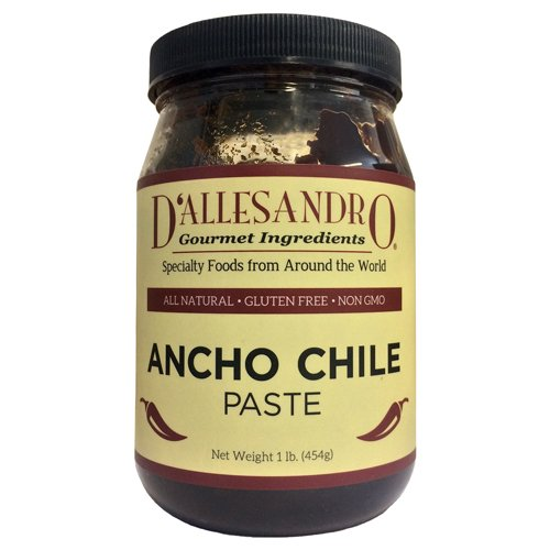 Ancho Chile Paste 16 oz by D'allesandro by D'allesandro