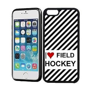 Love Heart Field Hockey iPhone 6 Case - Fits iPhone 6