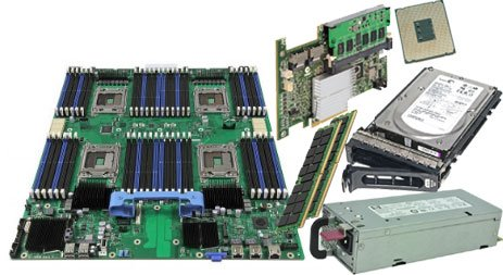 Sparepart: Dell 2U Rack Rail Kit, C212M