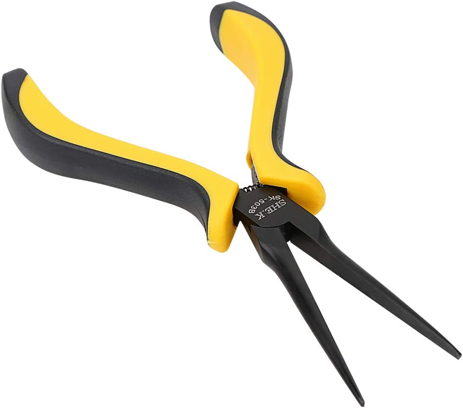 Spitzzange mit langem Nasenzange Pinzette Reparaturwerkzeug Multiwerkzeug