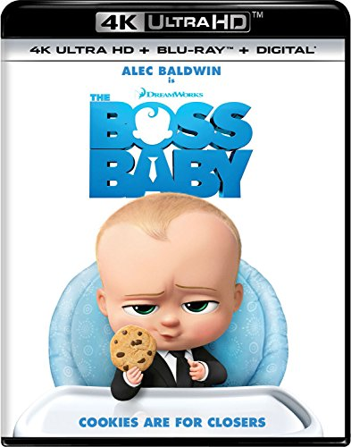 4K Blu-ray : The Boss Baby (With Blu-Ray, 4K Mastering, , Dolby, AC-3)