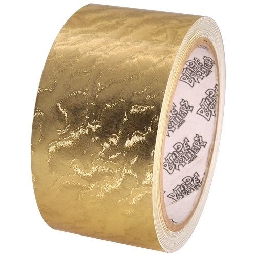 Tape Brothers Holographic sparkle metallic glitter tapes 10 yds each, Leaf Gold ()