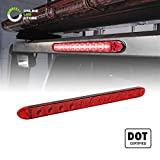 16' 11 LED Red Trailer Light Bar [Waterproof - IP65] [DOT Compliant] [Reflective Lens] [Park/Brake/Turn] ID Marker Brake Tail Light for Trucks