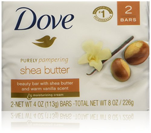 Dove Purely Pampering Shea Butter Beauty Bar, 4 oz, 2