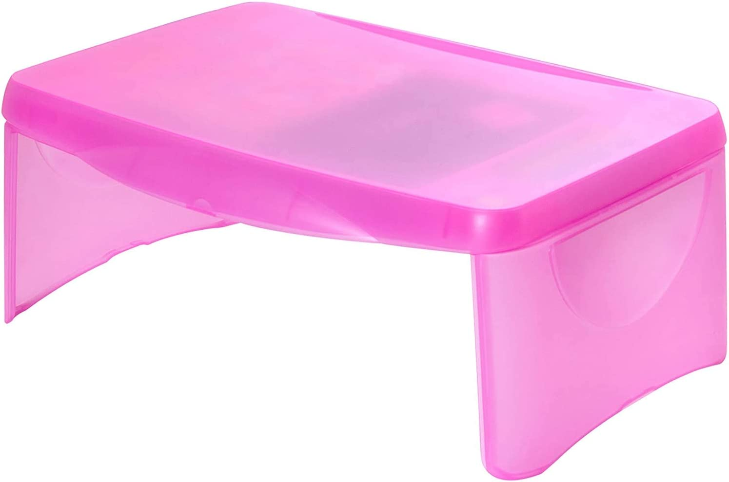 Dial Industries 706FP Deluxe Folding Lap Desk Tray, Pink
