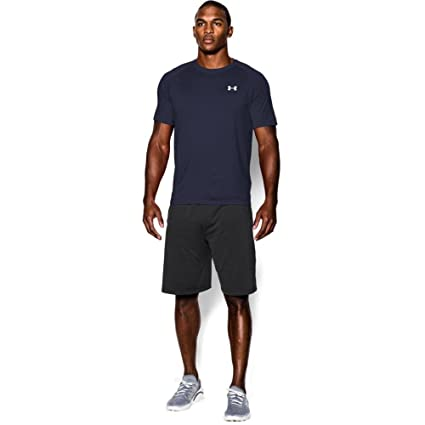 Under Armour Mens UA Tech™ Short Sleeve T-Shirt Extra Extra Large Midnight Navy