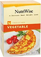 NutriWise - Vegetable High Protein Omelet (7/Box)