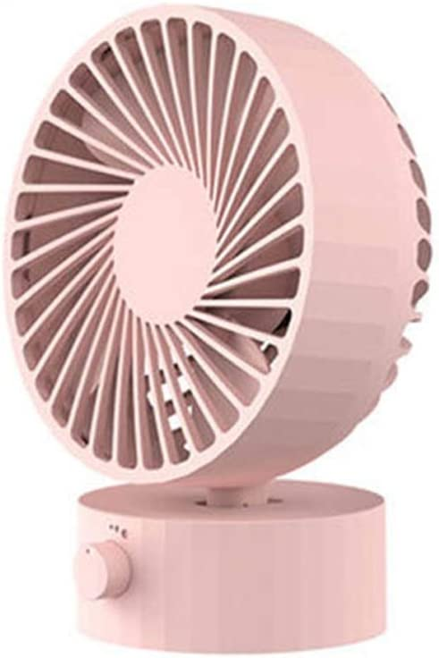 Color : Green USB Personal Tabletop Fan with Stepless Speed Regulation Adjustable Cooling Fan for Office Home ZHEN GUO Mini Desk Fan Whisper Quiet Strong Wind
