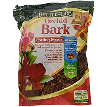 Natural Organic Potting Material for Orchids   Douglas Fir Bark for Orchids Orchid Potting Bark Plus Free Nautical Ebook by Joseph Rains 2 Ounces
