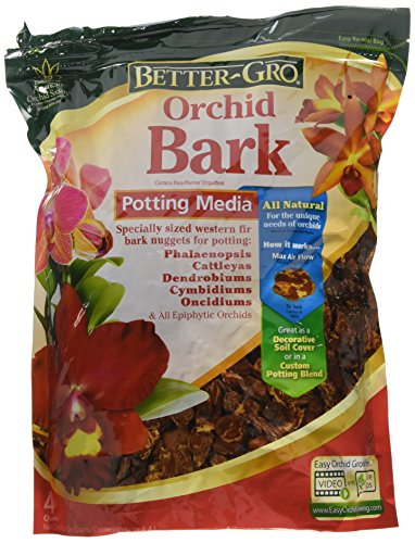 - Sun Bulb Company Inc 50180 Better Gro 4-Quart Orchid Bark