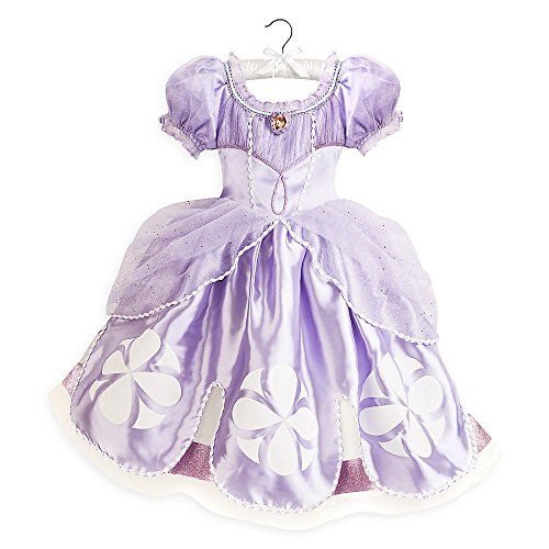 Disney Store Deluxe Sophia Sofia The First Halloween Costume Size Small 5 - 6 5T 2017 ()