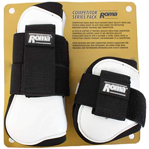 Roma Competitor Open Front/Fetlock Boot Set -