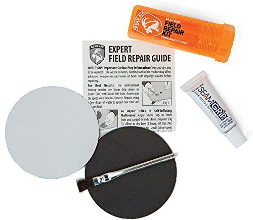 Gear Aid Seam Grip Field Repair Kit with Tenacious Tape Patches by Gear Aid by Gear Aid