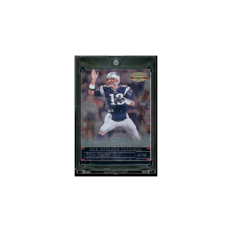 2007 Donruss Gridiron Gear # 57 Tom Brady   New England