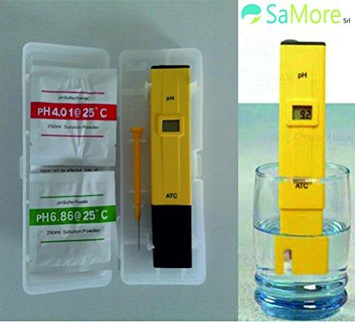 PH Test Medidor digital de profundidad de agua de piscina Acuario spa vino idroponica