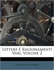 Lettere E Ragionamenti Varj Volume 2 Italian Edition