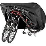 PUBAMALL Funda de Bicicleta - Resistente al Agua y Anti-UV - Cubiertas de Almacenamiento para Bicicletas de montaña y Carretera