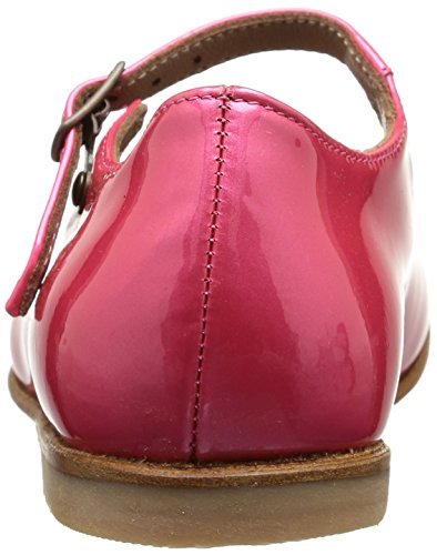 Pèpè 1216 P, Mädchen Classics Pink (vernice Metal Rosa Cuoio)