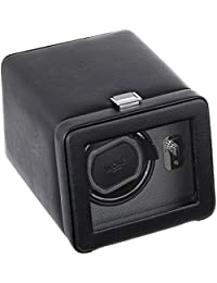 4525029 Windsor Single Watch Winder with Cover, Black
