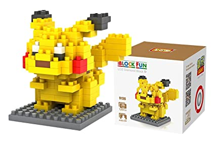 Amazon Loz Diamond Blocks Pokemon Series Pikachu 9136 Toys