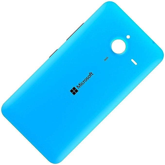 Original Akkudeckel cyan für Microsoft Lumia 640 XL LTE und 640 XL LTE Dual Sim