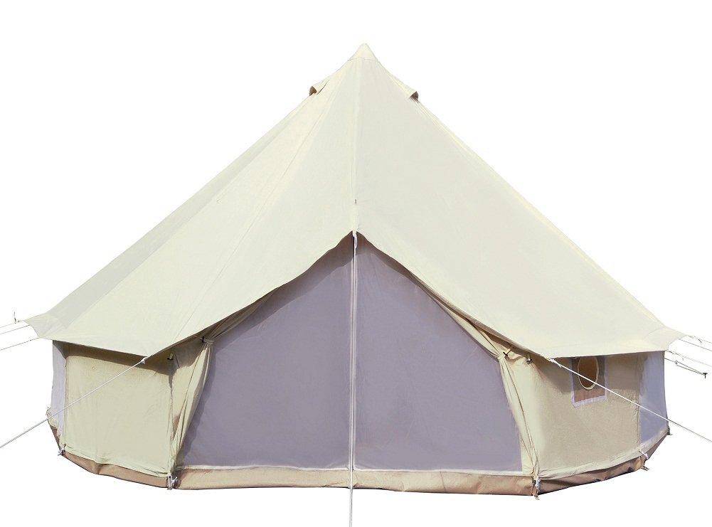 Dream House Diameter 5M 900D Oxford Cloth Waterproof Four Season Camping Tent for 4~6 Persons by Dream House