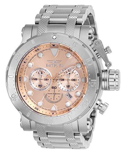 Men's  Coalition Forces Quartz Chronograph Rose Gold Dial Watch - Invicta 26496
