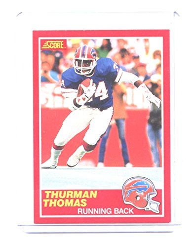 1989 Score #211 Thurman Thomas Buffalo Bills Rookie Card - Mint Condition Ships in New (Buffalo Bills Card Holder)