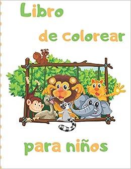 Libro de colorear para niños: Páginas para colorear fáciles ...
