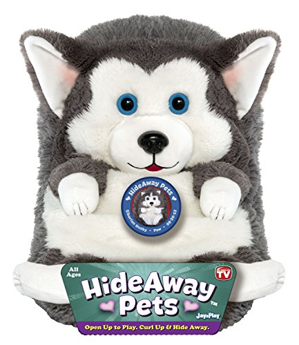 Jay At Play 15″ Hideaway Pets (Siberian Husky) image