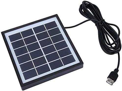 Dgtrhted 2W 6V Tragbare Polykristalline Silizium DIY Solar Panel mit 3 m Verlängerungskabel im Freien