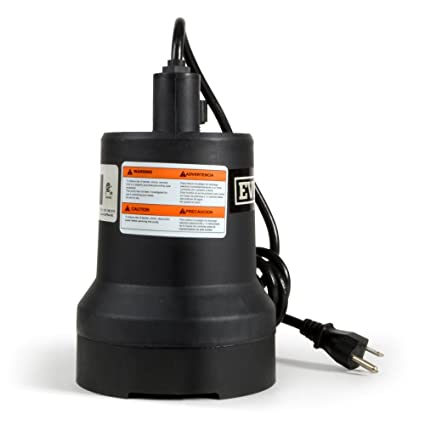 Everbilt SUP54-HD 1/6 HP Submersible Thermoplastic Utility Pump by Everbilt