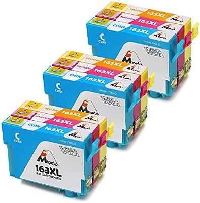 mipelo compatible Epson 16 X L 16 cartuchos de tinta, 9 Pack ...