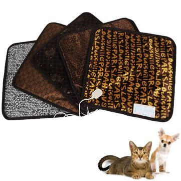 Electronic Heat Mat - Pet Heat Mat - Waterproof Pet Electric Pad Blanket Heat Heated Heating Mat Dog Cat Bunny Bed ( Dog Heating Mat )