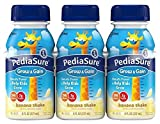 Pediasure Regular Nutrition Drink Bottles – Banana – 8 oz – 24 pk