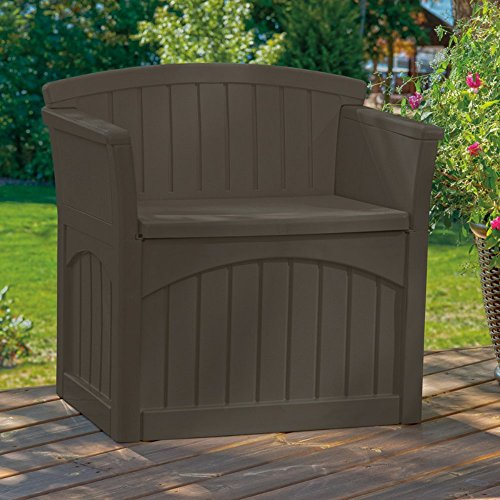 Suncast 31 Gallon Patio Deck Storage Seat by Suncast