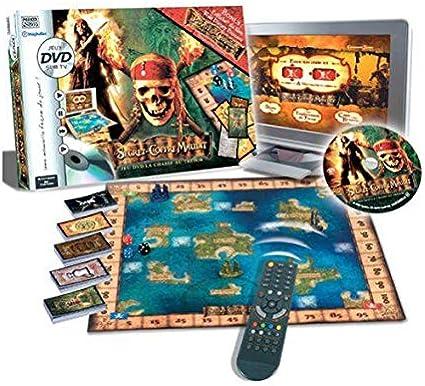 Hasbro - Piratas del Caribe DVD Tablero de Juego (versión en francés): Amazon.es: Juguetes y juegos